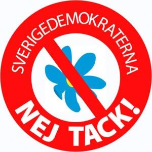 Sverigedemokraterna i riksdagen – Nej tack.